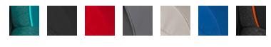 7 kleuren romer trifix autozitje